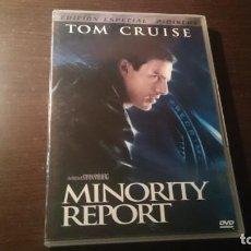 Cine: MINORITY REPORT DVD EDICIÓN ESPECIAL COLECCIONISTA. Lote 147596662