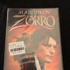 Cine: ( A58 ) EL ZORRO - ALAIN DELON ( DVD NUEVO PRECINTADO ). Lote 147596821