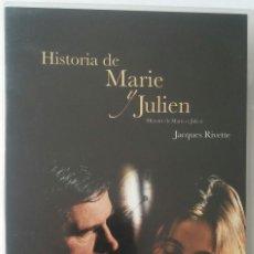 Cine: HISTORIA DE MARIE Y JULIEN (2003) - JACQUES RIVETTE - DESCATALOGADO - DVD. Lote 147625590