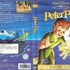 Cine: PETER PAN EDICIÓN ESPECIAL Y PETER PAN EN REGRESO AL PAÍS DE NUNCA JAMÁS - 2 DVD. Lote 147658718