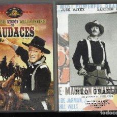 Cine: JOHN FORD. RÍO GRANDE. MISIÓN DE AUDACES. DVD. Lote 147668478