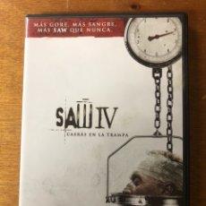 Cine: SAW IV DVD ORIGINAL. Lote 147781678