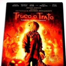 Cine: TRUCO O TRATO DVD DE CULTO. Lote 147781792