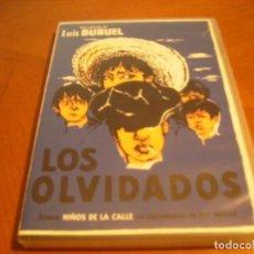 Cine: LOS OLVIDADOS / L.BUÑUEL / RARISIMA EDICION DVD + NIÑOS DE LA CALLE 82''. Lote 147785066