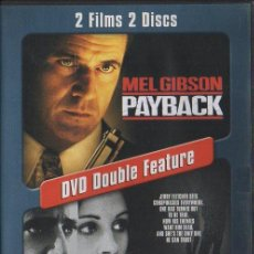 Cine: PAYBACK. CONSPIRACY THEORY. DVD DOUBLE FEATURE. DVD-5086. Lote 147833006