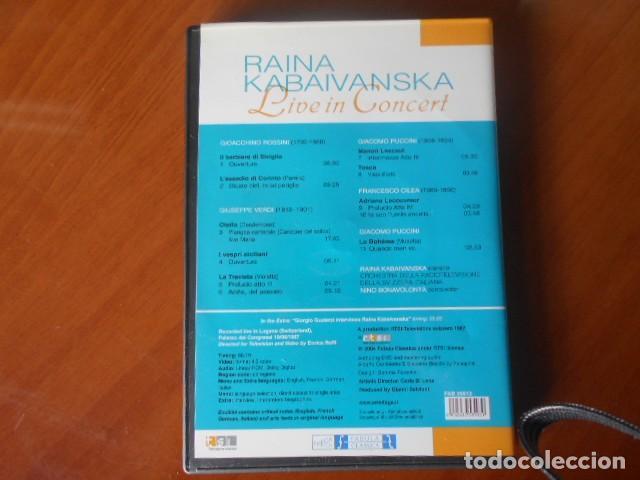 Cine: DVD-RAINA KABAIVANSKA-LIVE IN CONCERT - Foto 2 - 147863446