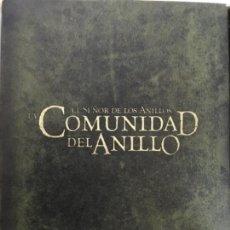 Cine: EL SEÑOR DE LOS ANILLOS LA COMUNIDAD DEL ANILLO VERSION EXTENDIDA. Lote 147938058