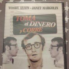 Cine: TOMA EL DINERO Y CORRE WOODY ALLEN,, JANET MARGOLIN. Lote 147944618