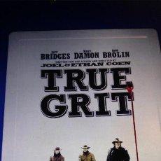 Cine: TRUE GRIT- VALOR DE LEY CAJA METALICA - DVD + BLURAY DISC . Lote 147949446