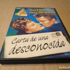 Cine - carta de una desconocida DVD usado - 147991950