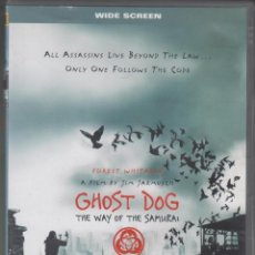 Cine: GHOST DOG DVD THE WAY OF THE SAMURAI 1999 JIM JARMUSCH VERSIÓN EN INGLÉS. Lote 148100974