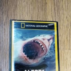 Cine: DVD DOCUMENTALES NATIONAL GEOGRAPHIC - ALERTA TIBURONES. Lote 148136218