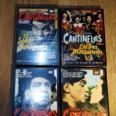 Cine: 4 DVD DE PELÍCULAS DE CANTINFLAS. Lote 148137918