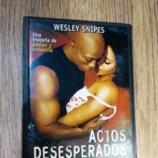 Cine: DVD ACTOS DESESPERADOS DE WESLEY SNIPES. Lote 148139218