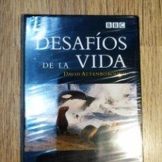 Cine: DVD DOCUMENTALES BBC - DESAFIOS DE LA VIDA (LA CAZA Y LA HUIDA). PRECINTADO. Lote 148139806