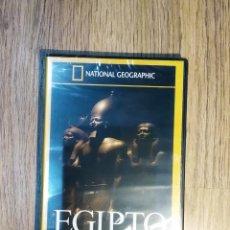 Cine: DVD DOCUMENTALES NATIONAL - LOS SECRETOS DE LOS FARAONES. PRECINTADO. Lote 148140146