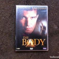 Cine: THE BODY. ANTONIO BANDERAS (DVD) . Lote 148152746