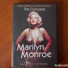 Cine: DVD-THE COMPLETE-MARILYN MONROE. Lote 148177022