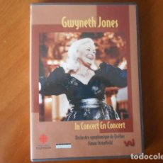 Cine: DVD-GWYNETH JONES-IN CONCERT EN CONCERT. Lote 148180862