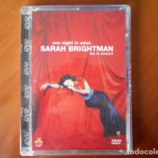 Cine: DVD-ONE NIGHT IN EDEN -SARAH BRIGHTMAN-LIVE IN CONCERT. Lote 148181118