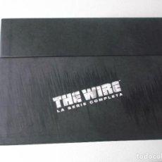 Cine: THE WIRE LA SERIE COMPLETA 5 DVDS. Lote 148186766