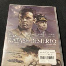 Cine: ( A75 ) LAS RATAS DEL DESIERTO - JAMES MASON ( DVD NUEVO PRECINTADO ). Lote 148208974