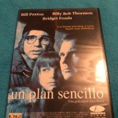 Cine: UN PLAN SENCILLO DE SAM RAIMI 1998 DESCATALOGADA. Lote 148239161
