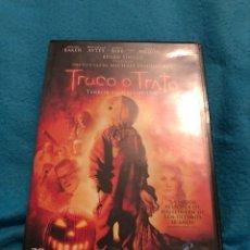 Cine: TRUCO O TRATO DVD DE CULTO DESCATALOGADO. Lote 148242086