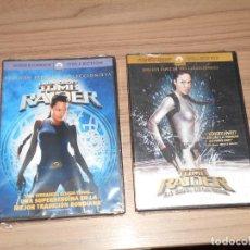 Cine: TOMB RAIDER + TOMB RAIDER LA CUNA DE LA VIDA EDICION ESPECIAL 2 DVD NUEVA PRECINTADA. Lote 296065998