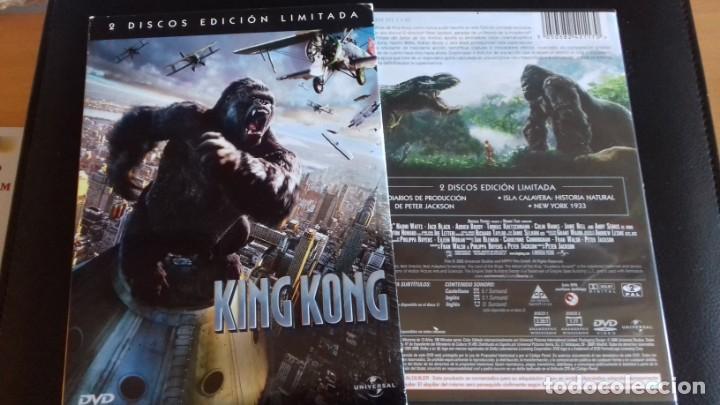CINE DVD PELICULA KING KONG EDICION ESPECIAL 2 DISCOS (Cine - Películas - DVD)