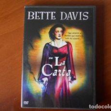 Cine: DVD-BETTE DAVIS EN LA CARTA. Lote 148312494