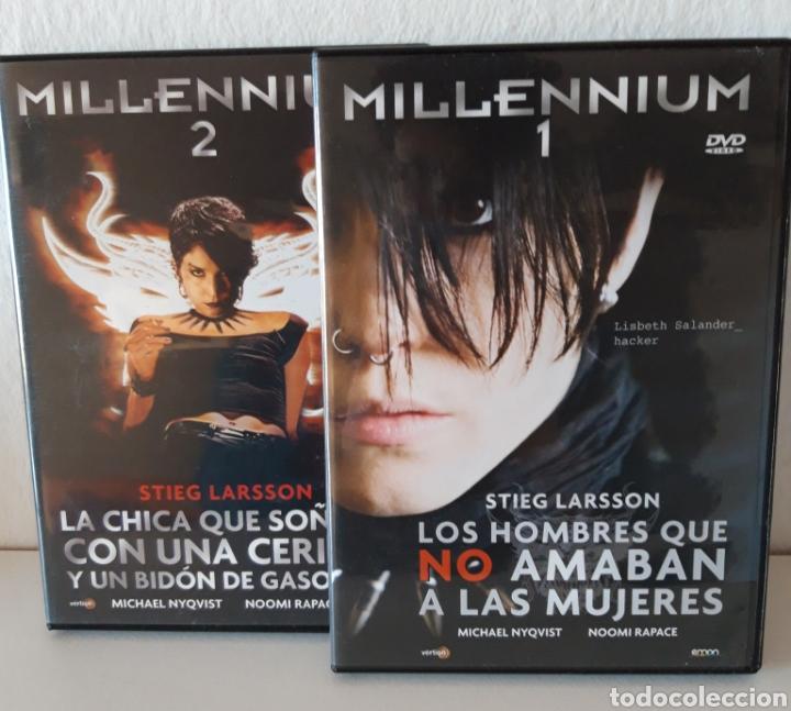 PACK PELÍCULAS DVD MILLENIUM I Y MILLENIUM II. MICHAEL NYQVIST Y NOOMI RAPACE. (Cine - Películas - DVD)