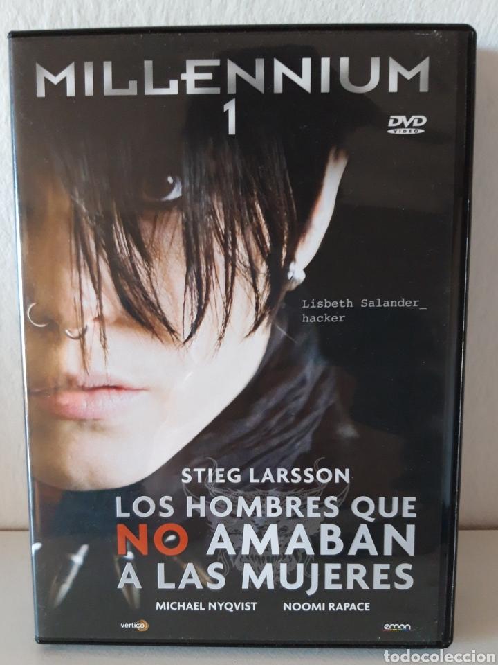 Cine: Pack películas DVD Millenium I y Millenium II. Michael Nyqvist y Noomi Rapace. - Foto 2 - 148397701