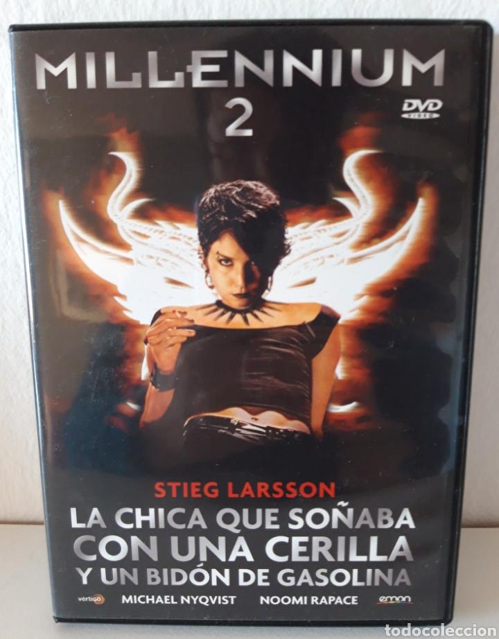 Cine: Pack películas DVD Millenium I y Millenium II. Michael Nyqvist y Noomi Rapace. - Foto 3 - 148397701