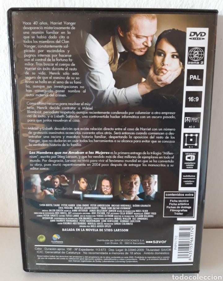 Cine: Pack películas DVD Millenium I y Millenium II. Michael Nyqvist y Noomi Rapace. - Foto 4 - 148397701