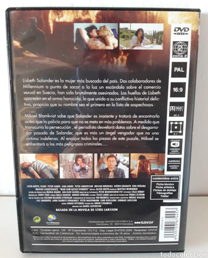 Cine: Pack películas DVD Millenium I y Millenium II. Michael Nyqvist y Noomi Rapace. - Foto 5 - 148397701