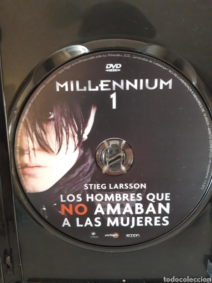 Cine: Pack películas DVD Millenium I y Millenium II. Michael Nyqvist y Noomi Rapace. - Foto 6 - 148397701