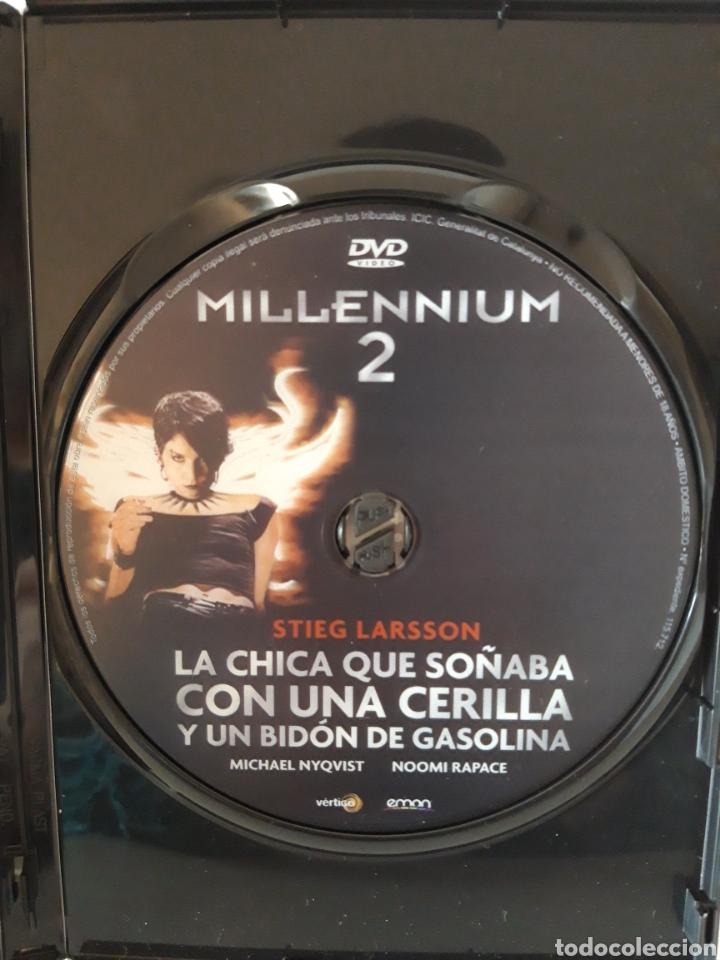Cine: Pack películas DVD Millenium I y Millenium II. Michael Nyqvist y Noomi Rapace. - Foto 7 - 148397701