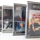 Cine: LOTE 4 PELÍCULAS DVD ALFRED HITCHCOCK.. Lote 148402142