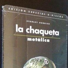 Cine: CINE DVD PELICULA LA CHAQUETA METALICA EDICION ESPECIAL 2 DISCOS PRECINTADA METALICA. Lote 148432554