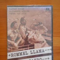 Cine: DVD ROMMEL LLAMA AL CAIRO - NUEVA, PRECINTADA (AE). Lote 148442058