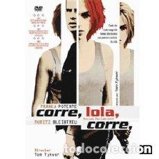 Cine: CORRE, LOLA, CORRE DIRECTOR: TOM TYKWER ACTORES: FRANKA POTENTE, MORITZ BLEIBTREU, HERBERT KNAUP. Lote 148455902