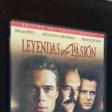 Cine: CINE DVD PELICULA LEYENDAS DE PASION. Lote 148486698