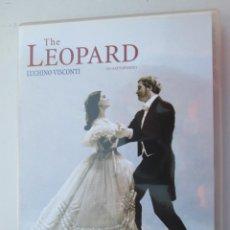 Cine: THE LEOPARD - IL GATTOPARDO - EDICIÓN ITALIANO SUBTITULOS EN INGLÉS - DVD. . Lote 148497694