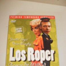Cine: DVD 3 DISCOS LOS ROPER 1ª TEMPORADA CAPÍTULOS DEL 1 AL 10 (BUEN ESTADO, SEMINUEVO). Lote 148538302