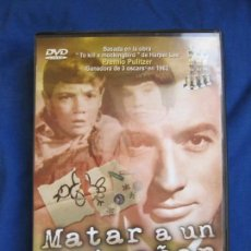 Cine: MATAR A UN RUISEÑOR DE ROBERT MULLIGAN. GREGORY PECK 1962 DVD MBE. Lote 148558870