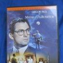 Cine: MATAR A UN RUISEÑOR DE ROBERT MULLIGAN. GREGORY PECK 1962EDICION COLECCIONISTA DVD MBE. Lote 148558934