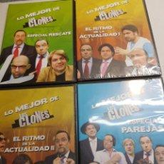 Cine: DVD ORIGINAL *LO MEJOR DE LOS CLONES * LOTE 4. Lote 148571688