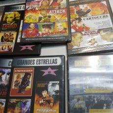 Cine: DVD ORIGINAL *GRANDES DEL CINE* LOTE 7 DVD. Lote 148572113