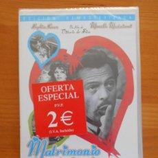 Cine: DVD MATRIMONIO A LA ITALIANA - SOPHIA LOREN - MARCELLO MASTROIANNI - NUEVA, PRECINTADA (ED). Lote 148778942